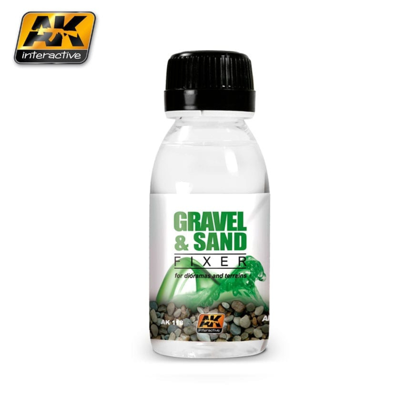 Gravel and Sand Fixer