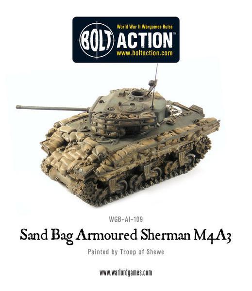 Sandbag Armoured Sherman M4A3