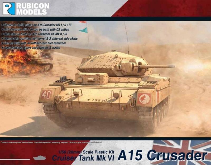 A15 Crusader  Mk I / I CS / II / II CS / III / AA