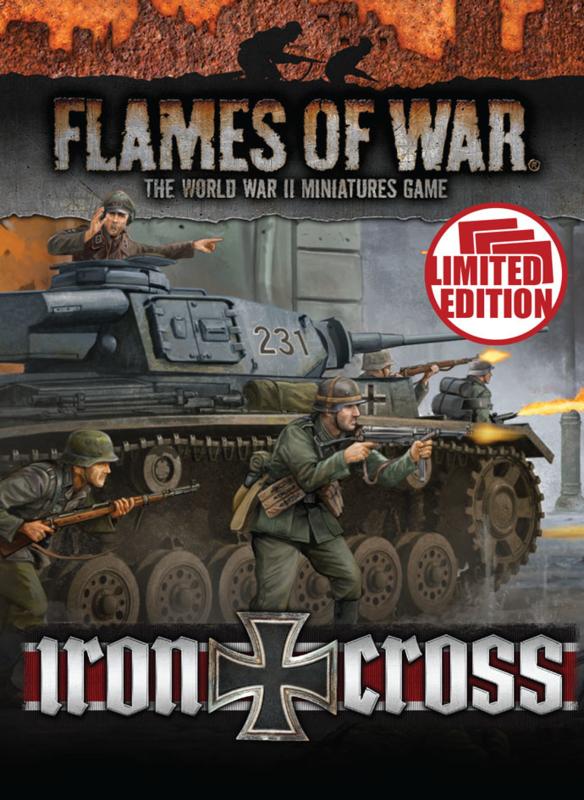 Iron Cross Unit Cards