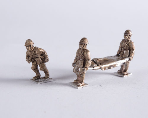 Dutch Army Medic + stretcher bearer team