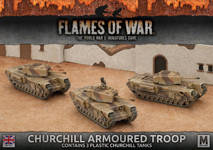 Churchill Armoured Troop