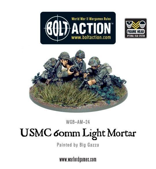 USMC 60mm light mortar