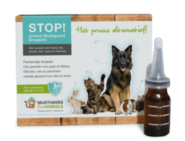 STOP! animal bodyguard aromatherapie, 4x8ml