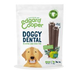Edgard & Cooper doggy dental appel en eucalyptus, large