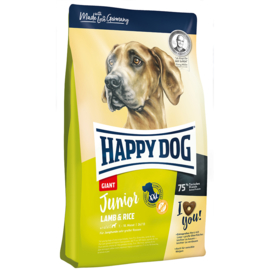 Happy Dog junior giant lamb & rice, 4kg