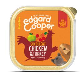 Edgard & Cooper kuipje kip en kalkoen, 150gram