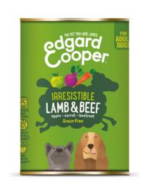 Edgard & Cooper blik lam en rund, 400gram