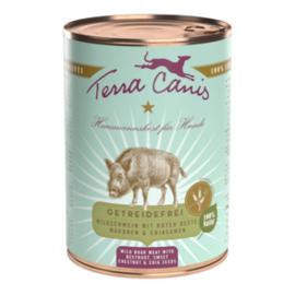 Terra Canis - blik graanvrije menu's - wild zwijn 400gram
