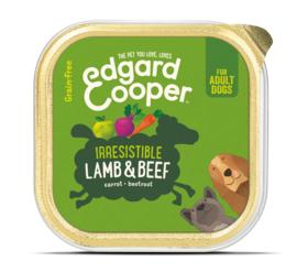 Edgard & Cooper kuipje lam en rund, 150gram