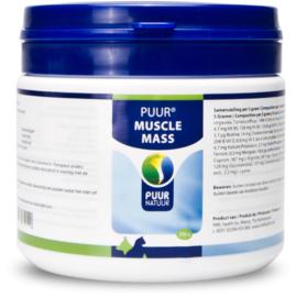 PUUR muscle mass/spieropbouw, 250gram