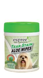 ESPREE tear stain wipes, 60stuks