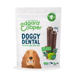Edgard & Cooper doggy dental appel en eucalyptus, medium