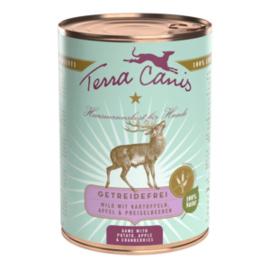 Terra Canis - blik graanvrije menu's - hert  400gram