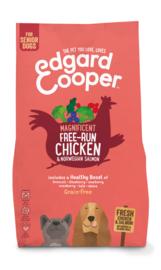 Edgard & Cooper brok senior scharrelkip en Noorse zalm, 2.5kg