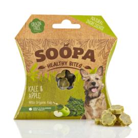 Soopa bites boerenkool & appel, 50gram