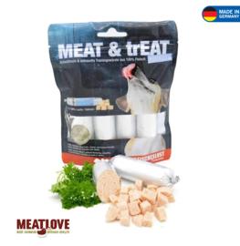 Meat Love meat & treat zalm, 4x40gram