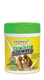 ESPREE ear care wipes, 60stuks