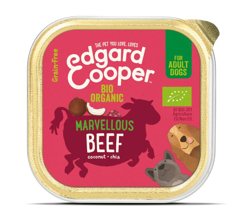 Edgard & Cooper kuipje bio-rund, 100gram