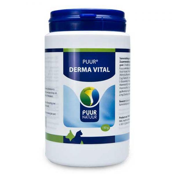 Puur derma vital/vitaal huid en vacht, 150gram
