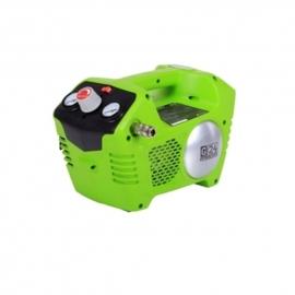 24 Volt Accu Compressor van Greenworks G24AC