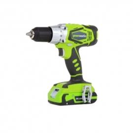 24 Volt accu schroef-klopboormachine van Greenworks G24CD