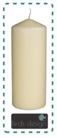 Blanco kaars wit 20cm of 25 cm
