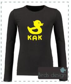 Shirt met eigen opdruk naar keuze