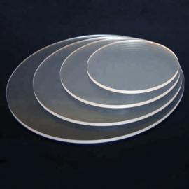 Acryl disc 19 cm ( set 2 stuks)