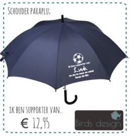 Paraplu, Ik ben supporter van...