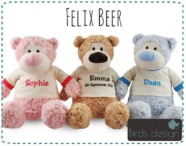 Felix de beer met shirt.