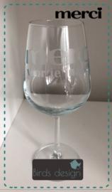Wijnglas Merci