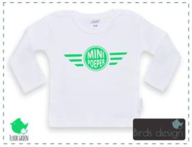 Mini poeper