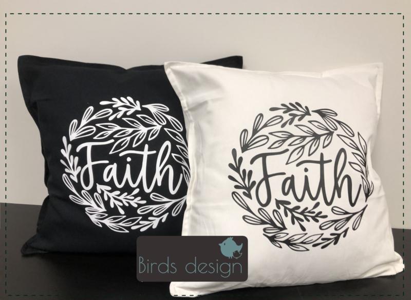 Kussen Faith