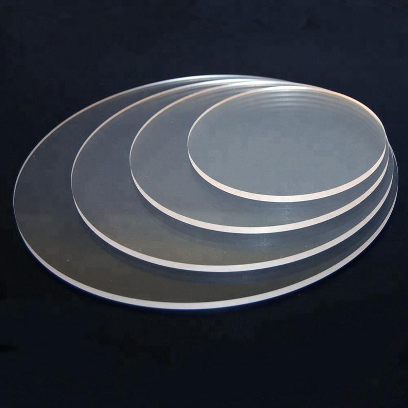 Acryl disc 23 cm ( set 2 stuks)