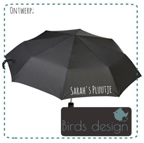 Paraplu met naam