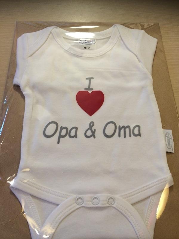 Romper ! Love opa & Oma