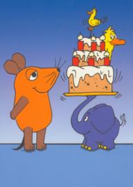 Die sendung mit der Maus -  Verjaardagstaart