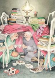 Inge Löök : Theedrinken onder de tafel - NR 10