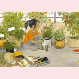Gerda Muller - Een tuintje in de stad