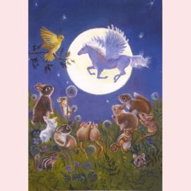 Judy Mastrangelo   - Kijken naar de maan