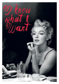Marilyn Monroe - I know what I want