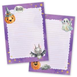 Little Lefty Lou - Halloween Purple | Schrijfblok - Dubbelzijdig
