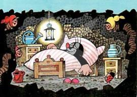 Het molletje - In bed