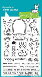 Lawn Fawn - Eggstra Amazing Easter - Clear Stamps (LF1884)