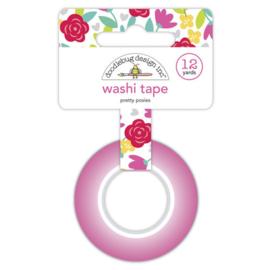 Doodlebug Design   - Pretty Posies  - Washi Tape