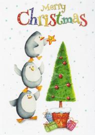 Liliana Schwarze - Merry Christmas (Pinguin)