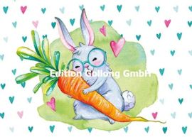 Wildblume by Tineke - Konijn met wortel