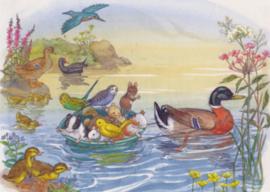 Molly Brett - Dieren in het water