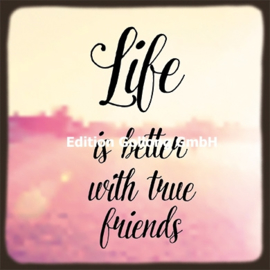 Melissa King - Life is better with true friends